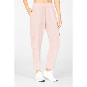 NWT FABLETICS NYLA Baby Pink Cargo Joggers